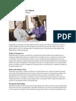 Role of Primary Nurse