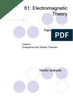 P361 Lecture2 Vector Differential Integral Operators