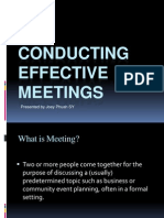 conductingeffectivemeetings20120202-120223023325-phpapp01