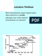 11. Fermentation Medium(51)