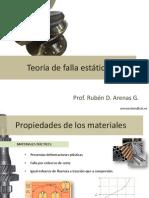 Mecanica de Materiales -Teoria de Fallas
