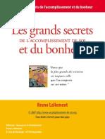 Secret Du Bonheur