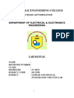52566074 New Linear Intergrated Circuits Lab Manual