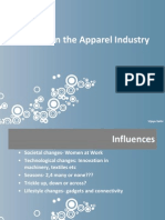 Changes in the Apparel Industry