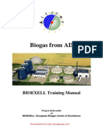 Biogas from AD