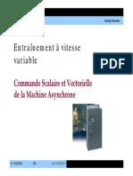 Entrainement à vitesse variable III_2010_2011