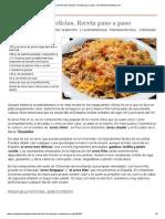 Arroz Frito Tres Delicias. Receta Paso a Paso - Recetasderechupete