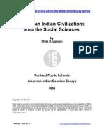 Chris Landon-American Indian History