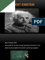 Albert Einstein By Dylan and Leo
