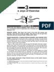 The Joys of Exerice 10-16 Apr