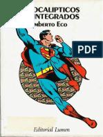 114679545 Apocalipticos e Integrados Umberto Eco