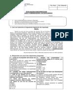 Evaluación Coef 2 II Semestre 8° básico