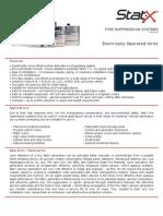 Electrical Data Sheet 2.10