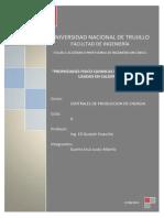 Propiedades físico químicas de los combustibles usados en calderas