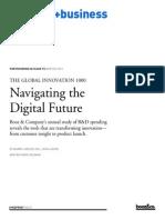 BoozCo 2013 Global Innovation 1000 Study Navigating the Digital Future