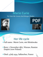 Marie Curie by Morgan and Oisin