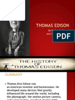 Thomas Edison by Nathan and Cameron