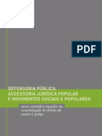 Defensoria Pública, Assessoria Jurídica Popular e Movimentos Sociais e Populares