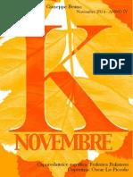 Koinè - il giornale dei Licei (novembrer)