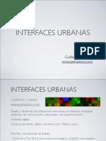 Interfaces Urbanas para arte y comunicación