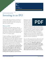 Ipo Investorbulletin