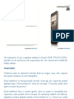 Onetouch 6030 6030d User Manual Romanian