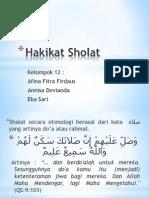 Hakikat Sholat