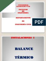Balance Termico 2013