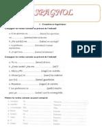 Compétences Grammaticales en Espagnol