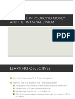 Chapter 1- Money and the Finanial System