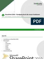 SharePoint 2010 – Rundgang durch die neuen Funktionen