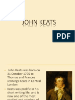 Context Keats and Nature