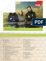 Seminar Programm 2014