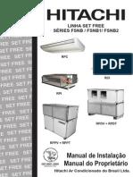 Hitachi Set Free - Manual de Operacao e Instalacao I