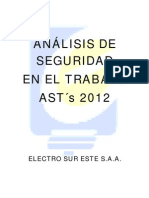 ASTs - ELSE - 2012