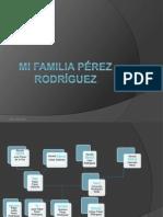 Mi familia Pérez rodríguez