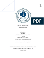 Anatomi Fisiologi - Sistem Saraf Pusat