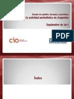 Clima de la actividad periodística en Argentina (Año 2011)