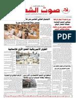 جريدة صوت الشعب العدد 325