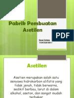 Pabrik Pembuatan Asetilen