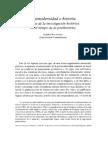 Racionero-Posmodernidad e Historia