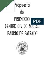 Propuesta Proyecto Centro Civico Social Patraix