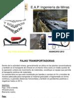 MÁQUINAS  Y EQUIPOS MINEROS  11ava Clase (2)