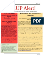 AAUP Alert.fall.2013