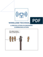 Wireless Technology - Modern Communaction