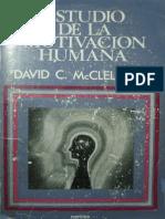 Mcclelland David Estudio de La Motivacion Humana