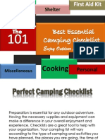 The 101 Best Essential Camping Checklists – Enjoy Outdoor Adventure
