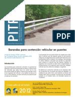 Boletin Prita 26 Barandas Para Contencion Vehicular en Puentes