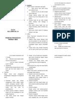 Leaflet Teknik Pijat Bayi