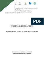 Indrumar Practica frigotehnist